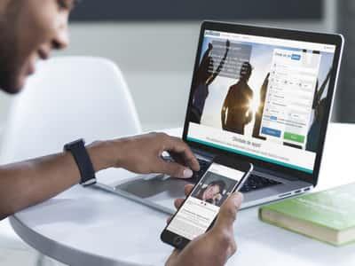 Conéctate ahora donde quieras gracias a nuestro nuevo diseño adaptable a todos los dispositivos móviles